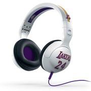 斯酷凯蒂 骷髅头 Hesh NBA特别版 头戴式耳机 白色湖人队 支持通话