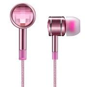 1MORE 水晶入耳式耳机 粉红色 正版施华洛世奇水晶 小米耳机团队设计