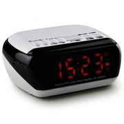 纽曼  MX18 时钟蓝牙音箱 无线迷你音响电脑音箱插卡 便携收音机床头闹钟
