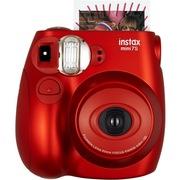 富士 趣奇(checky)instax mini7s相机 甜蜜金属红
