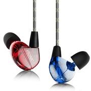 威索尼克 VSD2 跃动版 入耳式HiFi耳机 红蓝双色