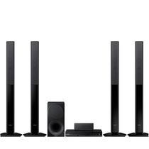 三星 HT-F455RK 音箱立柱式 5.1声道组合家庭影院 电视音响 卡拉ok 黑色产品图片主图
