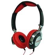 On earz OE-LOL04 LolliPOP棒棒糖系列 撞色折叠超轻量 头戴式耳机 (黑红)