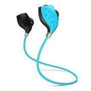 中锘基 S1 跑步运动式 音乐蓝牙耳机 炫酷蓝