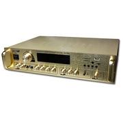现代 AV1000 功放机 家庭影院 卡拉OK 电视音响 专业放大器 金色