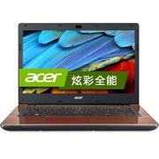 宏碁 E5-471G-584D 14英寸超薄本(i5-5200U 4G 500G GeForce 820M 2G独显 win8.1 蓝牙)可可棕