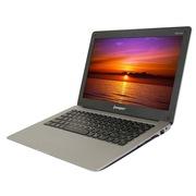 中柏 A14T(A5T-S) 13.3英寸触摸屏笔记本 (赛扬B867 2G 500G DOS) 银灰色