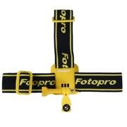富图宝 SS50T运动摄影配件gopro头带配件极限运动支架 黄色