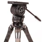 萨拿 FSB 6T 沙雀油压液压云台拍鸟拍微电影运动体育赛事摄影摄像两用观鸟打鸟不二选择