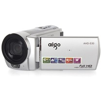 爱国者 AHD-S30 数码摄像机 银色(510万像素 1080P高清摄像 3.0英寸液晶屏 遥控拍摄 内赠8G卡)产品图片主图