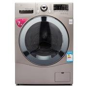 LG WD-H12428D 7公斤变频滚筒洗衣机(银色) DD变频直驱电机