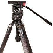 萨拿 FSB 8 沙雀油压液压云台拍鸟拍微电影运动体育赛事摄影摄像两用观鸟打鸟不二选择