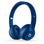 Beats Solo2 独奏者第二代 头戴式贴耳耳机 纯蓝色 带麦