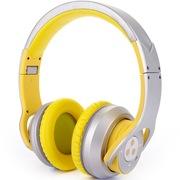 赛尔贝尔  G800-005 大卫罗素 蓝牙4.0功放双重降噪 柠檬黄 头戴式耳机