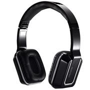 麦博 K330 头戴式耳机 电脑耳麦 便携折叠式 立体声 带线控 双插头 黑色