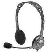 罗技 H111 立体声耳机麦克风 黑色