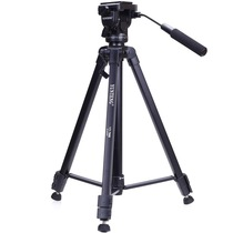 云腾 VT-7008专业大型三脚架云台套装 微单数码单反相机摄像机用 优质铝合金三角架黑色产品图片主图