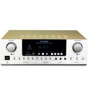 现代 AV-2301家庭影院 功放机 家用电视音响功放器 金色