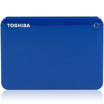 东芝 V8 CANVIO高端分享系列2.5英寸移动硬盘(USB3.0)2TB(神秘蓝)产品图片主图