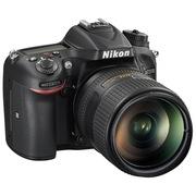尼康 D7200单反套机(AF-S DX VR 18-200mm f/3.5-5.6G ED VR II 防抖镜头)