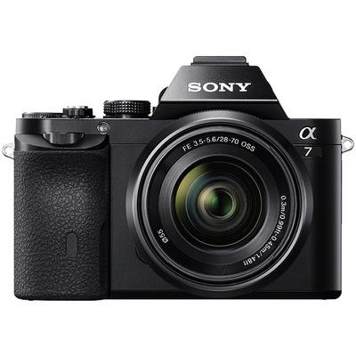 索尼 ILCE-7K 全画幅微单套机(28-70mm镜头 a7K/α7K)产品图片1