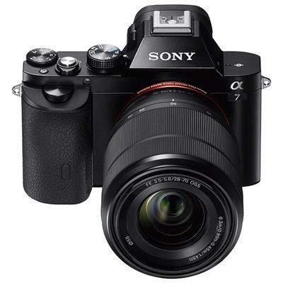 索尼 ILCE-7K 全画幅微单套机(28-70mm镜头 a7K/α7K)产品图片2