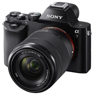 索尼 ILCE-7K 全画幅微单套机(28-70mm镜头 a7K/α7K)产品图片5