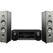 JBL E80 3件套(墨西哥主音箱E80+天龙S500功放) 家庭影院套装 (黑色)