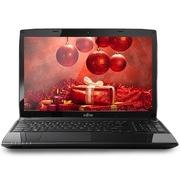 富士通 AH544 15.6英寸笔记本电脑(i3-4000M 2G 500G GT720M 2G独显 蓝牙4.0 HDMI) 黑色