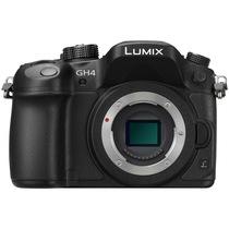松下 Lumix DMC-GH4 微型单电机身 黑色 4K 视频拍摄利器产品图片主图