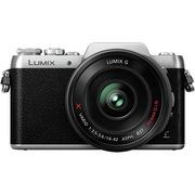 松下 Lumix DMC-GF7 微型单电单镜套机 银色 电动变焦版 自拍利器(14-42mm GF6升级版微单 DMC-GF7XGK-S)