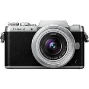 松下 Lumix DMC-GF7 微型单电单镜套机 银色 手动变焦版 自拍利器(12-32mm GF6升级版微单 DMC-GF7KGK-S)