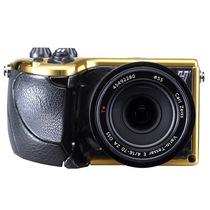 哈苏 3012573 Lunar 单电套机(Zeiss 16-70mm F/4 镜头) 黄金限量版 黑色鹿皮革手柄产品图片主图