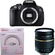 腾龙 佳能(Canon) EOS 700D 单反机身(腾龙 SP AF17-50mm F/2.8  佳能卡口)