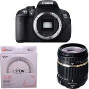腾龙 佳能(Canon) EOS 700D 单反机身(腾龙 18-270mm F/3.5-6.3  佳能卡口)