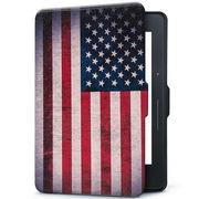 纳图森 KV-04 适配Kindle Voyage/1499版Kindle航行专用休眠保护皮套 彩绘保护套/壳 美国国旗