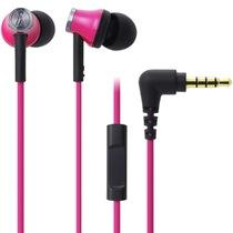 铁三角 ATH-CK330iS PK 智能型手机专用耳塞式通话耳机 粉色产品图片主图