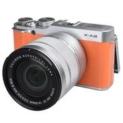 富士 X-A2 微单电套机(XC16-50II)热力橙 APS-C 自拍翻转屏 WiFi XA2时尚复古