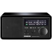 山进 WR-11SE 台式经典收音机音响 四十周年限量纯黑纪念版 支持手机电脑等设备输出