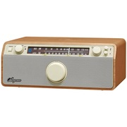 山进 新 WR-12BT 经典台式收音机音响 支持蓝牙
