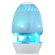 乐放 i80炫光版 笔记本音响/台式电脑音箱/USB迷你小音箱/多媒体音响(白蓝色)