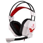 赛德斯  倍耐力 A30 头戴式 高端 专业 游戏耳机(红白)