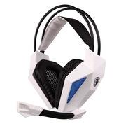赛德斯 SA-709 头戴式 立体声 专业 游戏耳机(白蓝)