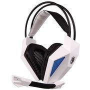 赛德斯 SA-710 虚空之眼 头戴式 立体声 专业 游戏耳机 炫光 (白蓝)