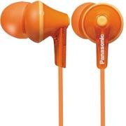 松下 RP-HJE125GK-D 缤纷入耳式耳机 橘黄色 佩戴舒适  隔绝噪音 音质清晰