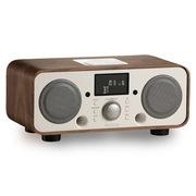 欧乐司  AW3021 New Breeze 蓝牙无线HIFI音响 复古高端遥控蓝牙2.1低音炮音箱带收音机 胡桃木白