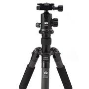 思锐 T1205+G10X便携反折三脚架 专业单反相机 碳纤维 三角架云台套装