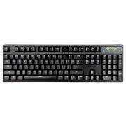 凯酷 Hero 104 战队版 黑色蓝字机械键盘 无背光游戏键盘 青轴