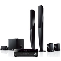 YAMAHA NS-PA40音箱+RX-V379功放机 5.1声道家庭影院音响套装 黑色功放产品图片主图
