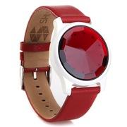 刷刷手环 北京红宝石款 宝石材质、真皮腕带 可刷公交地铁的购物支付的智能手环